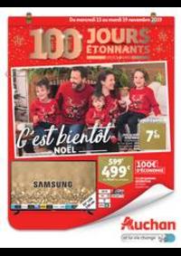 Prospectus Auchan CERGY : C'est bientôt Noël