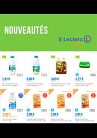 Prospectus E.Leclerc drive Aulnay sous Bois : Nouveautés