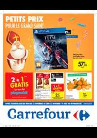 Prospectus Carrefour Express BRUXELLES Madou : Petits prix pour le grand Saint