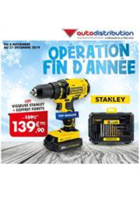 Prospectus auto distribution AUBERVILLIERS : Opération Fin D'Année