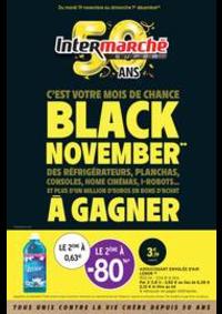 Prospectus Intermarché Super Villeneuve le Roi : BLACK NOVEMBER**