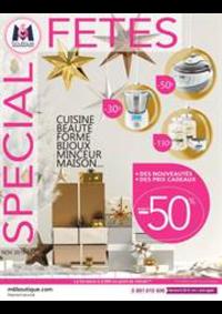 Prospectus M6 Boutique Paris Bastille : Special Fetes