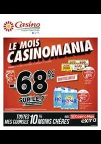 Prospectus Supermarchés Casino EVIAN LES BAINS : Le mois Casinomania