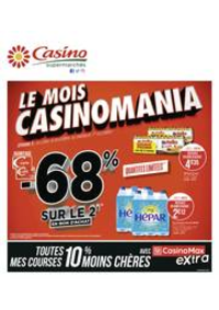 Prospectus Supermarchés Casino PARIS 32 Boulevard Vaugirard : Le mois Casinomania