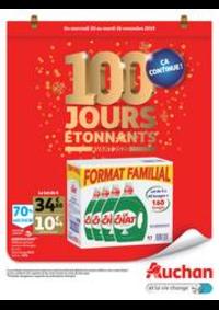 Prospectus Auchan ISSY LES MOULINEAUX : 100 jours étonnants avant 2020