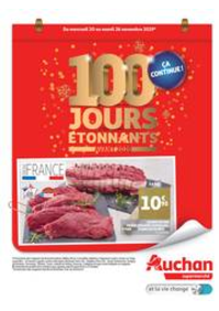 Prospectus Auchan Val d'Europe Marne-la-Vallée : 100 jours étonnants avant 2020