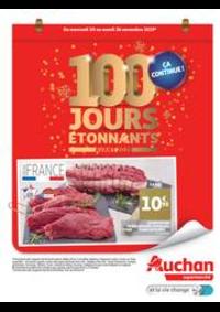 Prospectus Auchan CERGY : 100 jours étonnants avant 2020