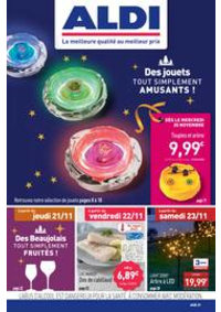 Prospectus Aldi Doubs : Des jouets tout simplement amusants!