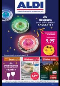 Prospectus Aldi Les Fins : Des jouets tout simplement amusants!