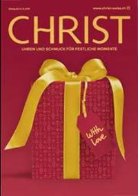 Prospectus CHRIST Bern - Marktgasse : Weihnachtsmagazin