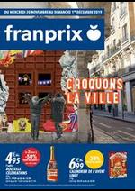 Prospectus Franprix : Croquons la ville