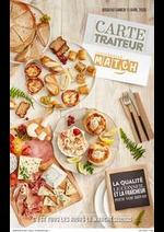 Prospectus Match : Carte traiteur