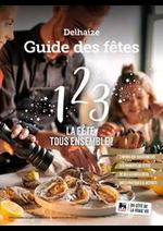 Prospectus AD Delhaize : Delhaize Guide des ftes