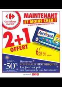 Prospectus Carrefour Market Paris Saint Ouen : Maintenant et moins cher !