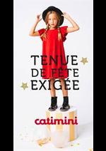 Prospectus Catimini : Tenue de Fête Exigée
