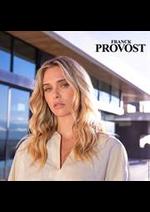 Prospectus Franck Provost : Lookbook Femme