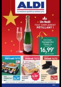 Prospectus Aldi Orgeval : Un Noël tout simplement pétillant!