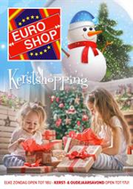 Prospectus EURO SHOP : Kerstfolder