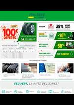 Promos et remises Feu Vert : Offres Feu Vert