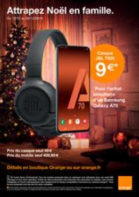 Prospectus Boutique Orange TOULOUSE : Attrapez Noël en famille.