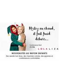 Prospectus Lola & Liza AUVELAIS : Promotions Lola
