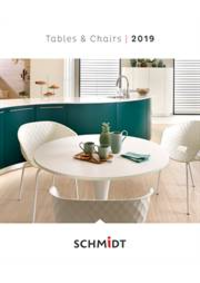 Prospectus Cuisines Schmidt GOSSELIES : Tables et Chaises Tafels en stoelen 2019