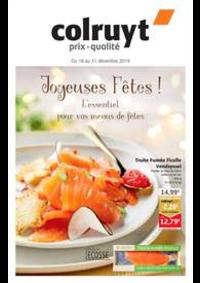 Prospectus Colruyt ANDENNE : Jojeuses Fetes