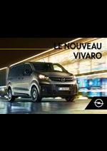 Prospectus  : Opel Vivaro