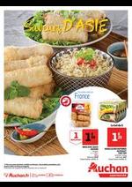 Prospectus Auchan Supermarché : Saveurs d'Asie