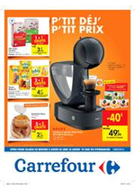 Prospectus Carrefour Express : Petit dejeuner, petit prix