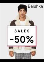 Catalogues et collections Bershka : Sales Men