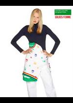 Prospectus Benetton : Soldes / Femme