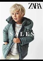 Prospectus ZARA : Boys Sales