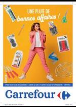 Prospectus Carrefour : Une pluie de bonnes affaires !