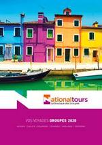 Promos et remises  : Vos voyages groupes 2020