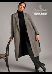 Prospectus Massimo Dutti Women Men Namur : Soldes / Femme