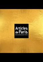 Prospectus Articles de Paris : Les Nouveautés Femme