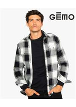 Prospectus Gemo : Chemises Homme
