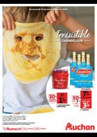 Prospectus Auchan BESSONCOURT : Irrésistible Chandeleur
