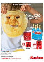 Prospectus Auchan : Irrésistible Chandeleur