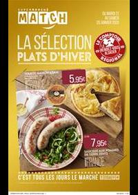 Prospectus Supermarchés Match Huningue : La sélection plats d'hiver