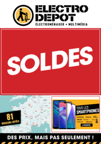 Promos et remises ELECTRO DEPOT Montbéliard - Exincourt : SOLDES. En dépôt et sur electrodepot.fr
