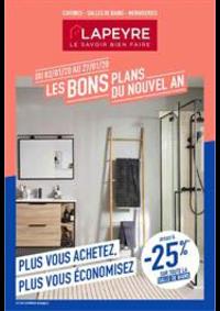 Prospectus Lapeyre Audincourt : Les bons plans du nouvel an