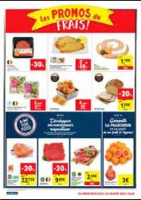Prospectus Carrefour Express WOLUWE SAINT LAMBERT : Les promos du frais