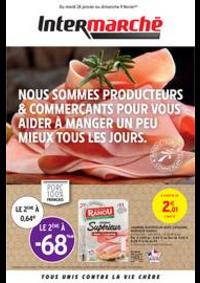 Prospectus Intermarché Super Mery-sur-Oise : PRODUCTEURS & COMMERÇANTS