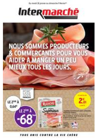 Prospectus Intermarché Super Noisy le Grand : PRODUCTEURS & COMMERÇANTS