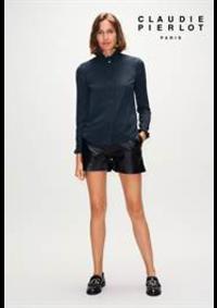 Prospectus Claudie Pierlot PARIS 29 Juillet : Collection Tops & Chemises