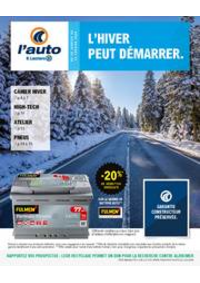 Prospectus L'auto E.Leclerc PAU : L'hiver peut démarrer.