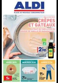 Prospectus Aldi Harfleur : Crêpes et Gâteaux