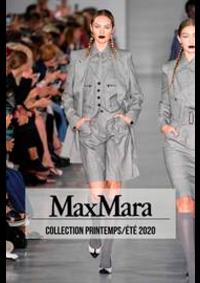 Prospectus Max Mara Paris 16 : Collection Printemps/Été 2020